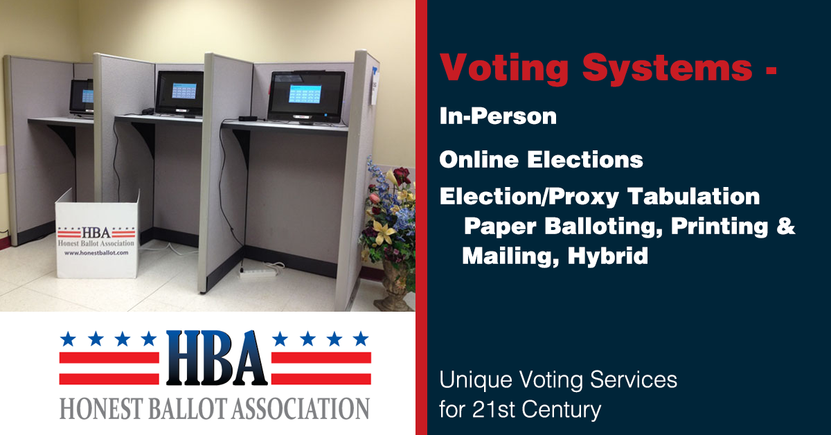 Online Voting Systems Amp Software For Rent Honest Ballot