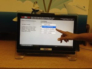 Digital Touch Screen Voting Machine Rental